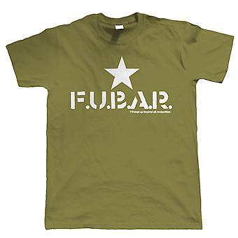 FUBAR Shooter Gamer Airsoft of Paintball T Shirt - alle maten inc 4XL 5XL
