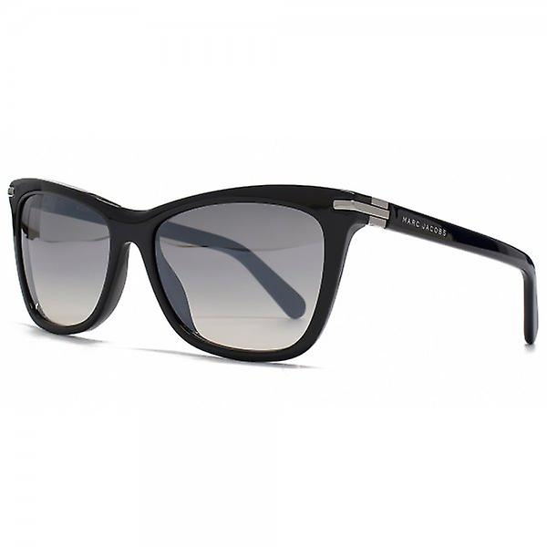 Marc Jacobs Flared Sunglasses In Black