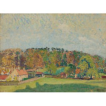 Spencer Gore - Autumn Sussex Poster Print Giclee