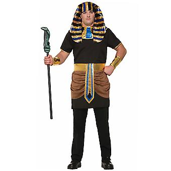 Eqyptian Pharaoh King Ramses Egypt Ancient Ruler Tutankhamun Men Costume STD
