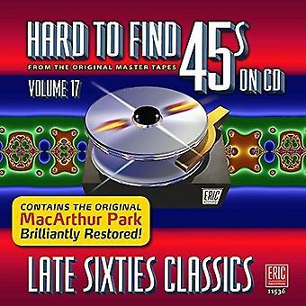 Forskellige kunstner - svært at finde 45 på CD V17 [CD] USA import