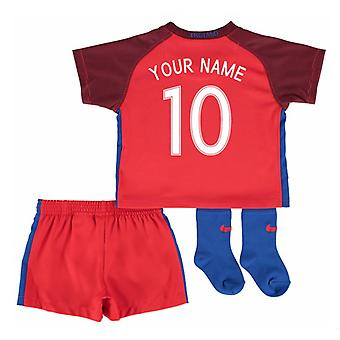 2016-17 England Away Baby Kit (Your Name)