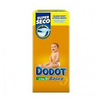 Dodot Basic Diaper Size 3 (4-10 Kg) 50 Units (Childhood , Diaper and changers , Diapers)