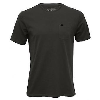 O'Neill Jacks Base Crew-Neck T-Shirt W/ Pocket, Dark Grey