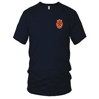 US Army - 711th vedlikehold bataljon brodert Patch - Mens T-skjorte