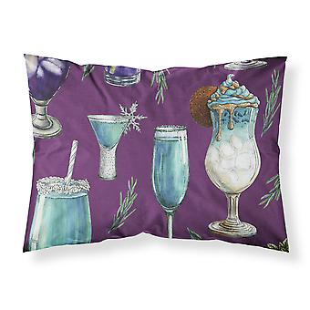 Drinks and Cocktails Purple Fabric Standard Pillowcase