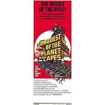 Conquest of the Planet of the Apes Movie Poster (11 x 17)