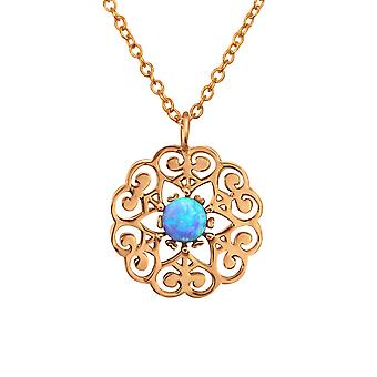 Celtic - 925 Sterling Silver Jewelled Necklaces - W31398X