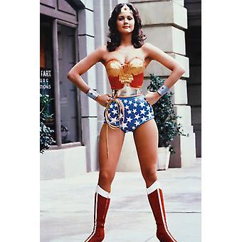 Wonder Woman TV TV Show Poster Poster Print