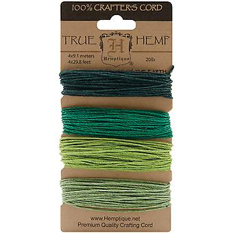Hemp Cord 20# 30 Feet Pkg Emerald Hc20 Soe