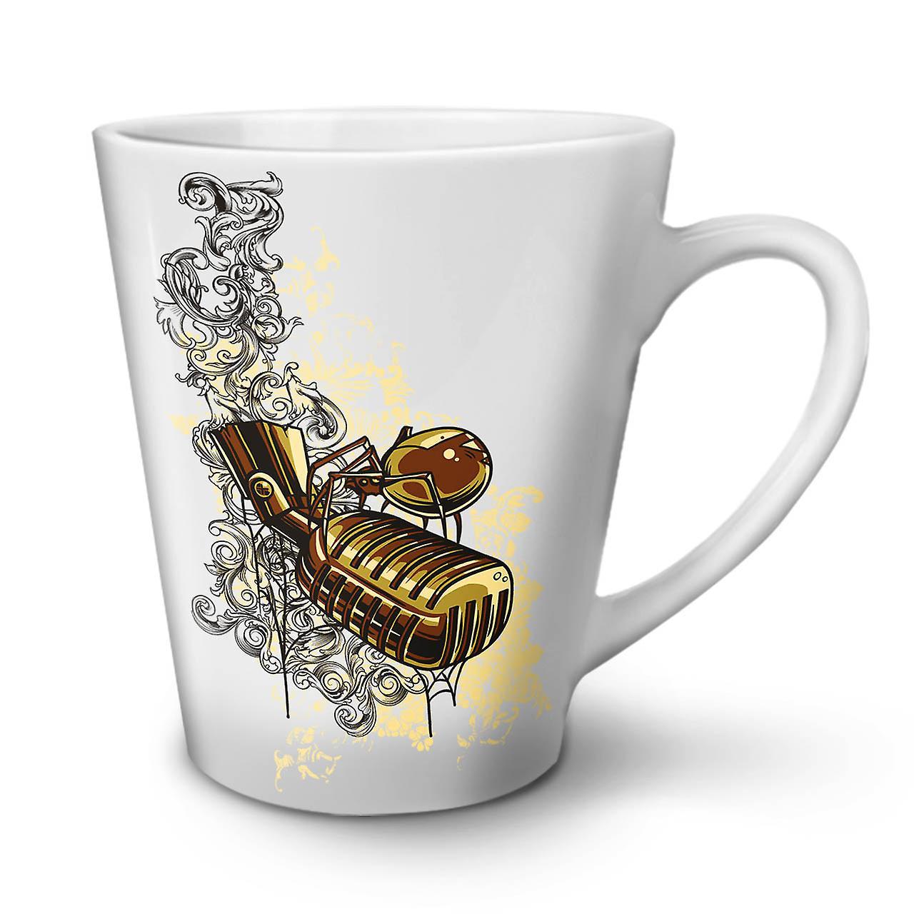 Micro Café OzWellcoda Thé Blanc Céramique 12 De En Gobelet Chanter Latte Musique Nouveau v6ygY7bf