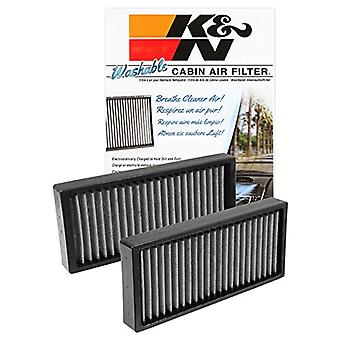 K&N VF1002 Washable & Reusable Cabin Air Filter Cleans and Freshens Incoming Air for your Nissan Armada, Pathfinder, Tit