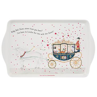 Ruby Red Shoes London Medium Tray