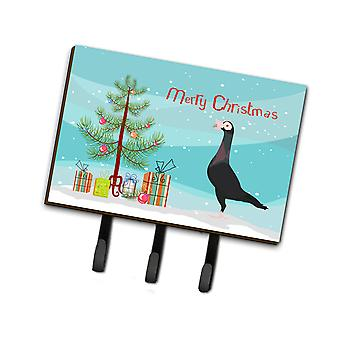 English Carrier Pigeon Christmas Leash or Key Holder