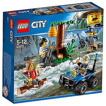LEGO City politiet Mountain flygtende
