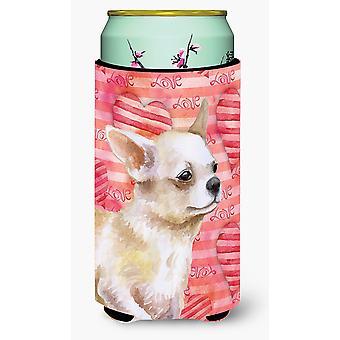 Chihuahua benet upp kärlek lång pojke dryck isolator Hugger