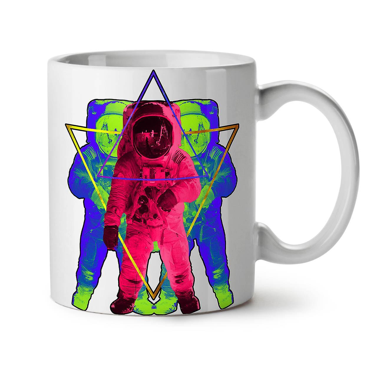 Astronaut 11 New Psychedelic Coffee OzWellcoda Ceramic Tea White Mug mv8OywNn0P