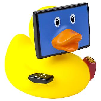 Lilalu TV Telly Addict Rubber Duck Bathtime Toy