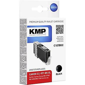 KMP Ink replaced Canon CLI-571 BK XL Compatible P