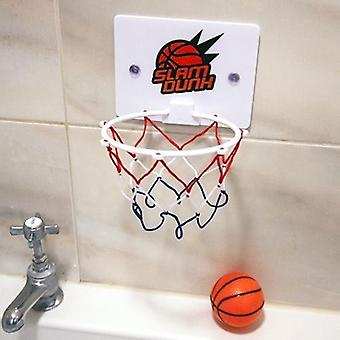 Bad tijd basketbal hoepel 2 drijvende ballen Slam Dunk Bad Toy Xmas