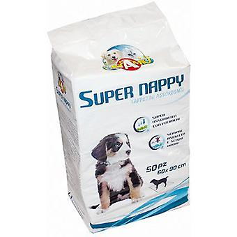 Nayeco Super large Nappy diaper wipe (parts) 10 units (Dogs , Training Aids , Behaviour)