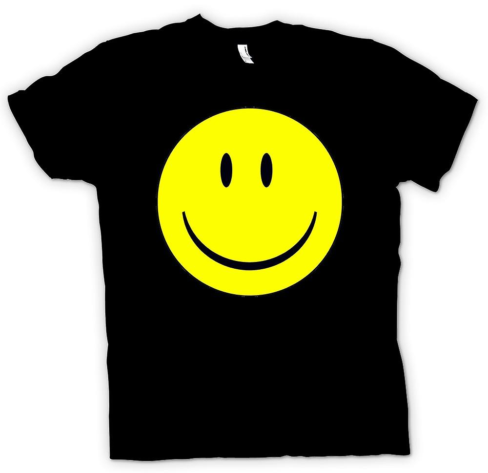 Womens T-shirt - miley ansikte - Acid House