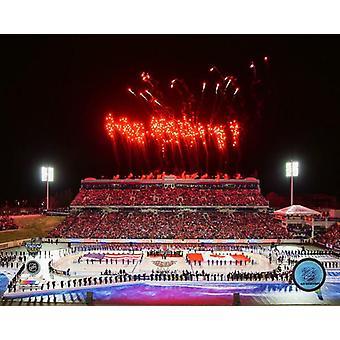 Navy-Marine Corps Memorial Stadium 2018 NHL Stadium Series Photo Print