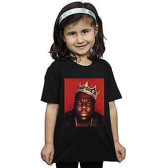 Notorious BIG Girls Gesicht Krone T-Shirt