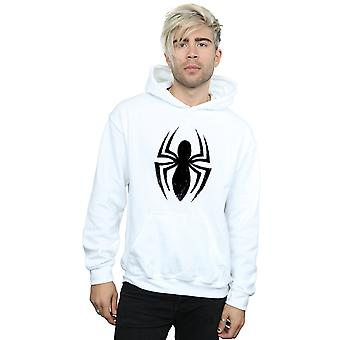 Marvel Men's Spider-Man Ultimate Spider Logo Hoodie