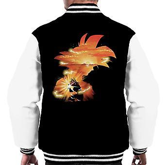 Dragon Ball Z Goku solnedgang menn Varsity jakke