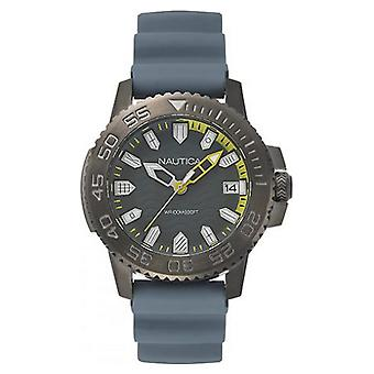 Nautica mens watch wristwatch NAPKYW004 silicone