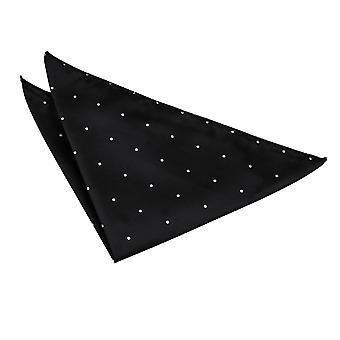 Einstecktuch schwarz Pin Dot