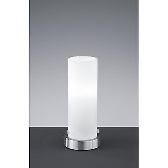 Trio belysning Seta moderne nikkel Matt Metal bordlampe