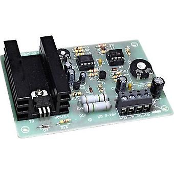 DC speed controller Assembly kit Conrad Components 196460 9 Vdc, 12 Vdc, 16 Vdc 5 A