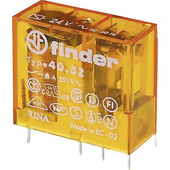 Finder 40.52.8.120.0000 PCB relays 120 V AC 8 A 2 change-overs 1 pc(s)
