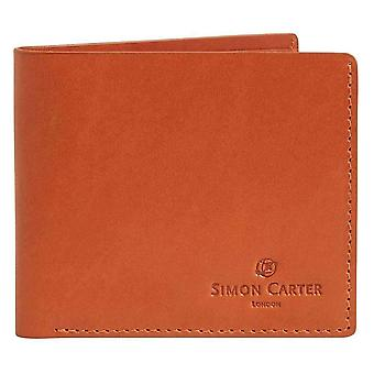 Simon Carter Slim Jeans Wallet - Tan