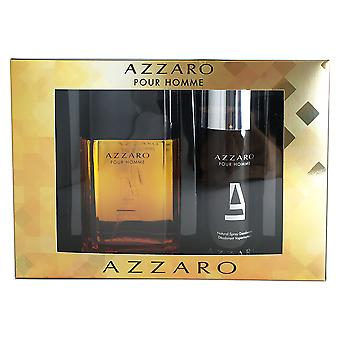 Azzaro for Men 3.3 oz EDT Spray 2 Piece Set