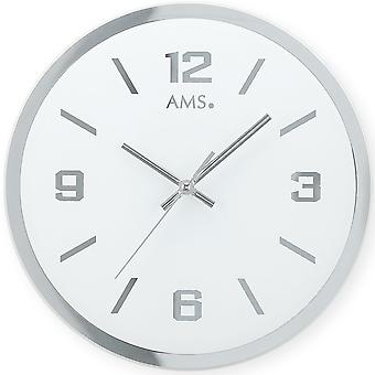 Quartz quartz wall clock quartz faceted and printed mirror glass