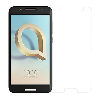 Alcatel A7 armor protection protection glass armoured glass film real 9 H glass tempered glass