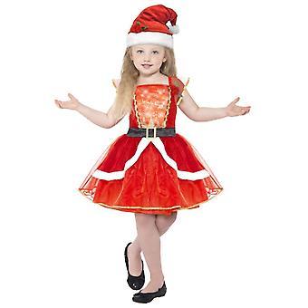 Lujo de los trajes de los niños vestido de Navidad para niñas