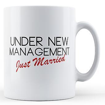 Management nygift - trykte krus