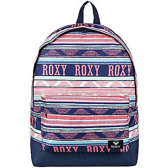 Roxy Bright White Ax Boheme Border Sugar Baby - 16 Litre Womens Backpack