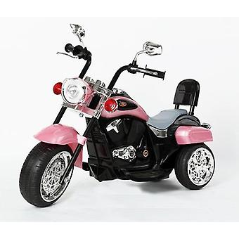 Harley-Davidson Style Kids 3 Wheel Chopper 6V Electric Motor Trike Pink