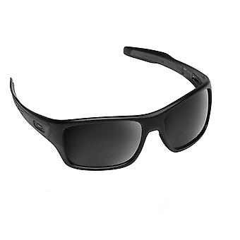 Best SEEK Polarized Replacement Lenses for Oakley TURBINE Black Iridium