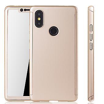 Xiaomi Mi 8 SE Hülle Case Handy Cover Schutz Tasche 360 Fullcover Panzerfolie
