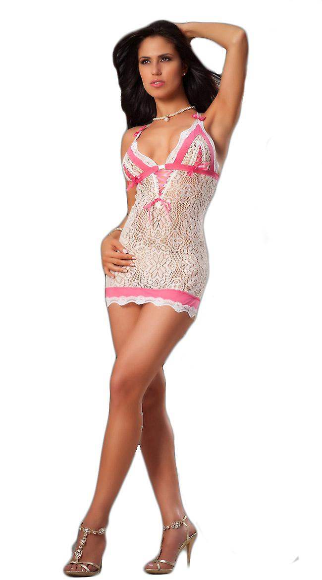Waooh - Lingerie - Sexy Lace Babydoll Short
