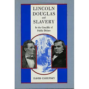 لينكولن-دوغلاس والرق (طبعة ريبرينتيد) من ديفيد زاريفسكي-