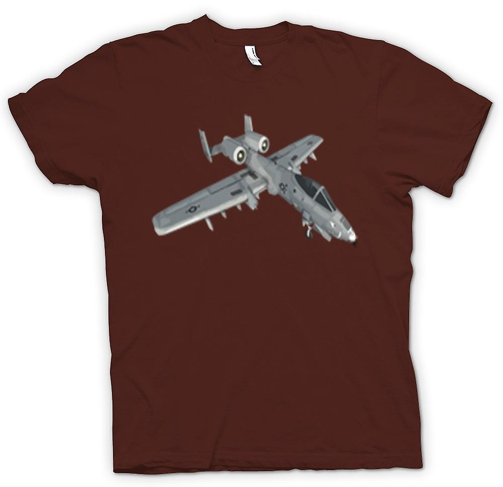 Mens t-shirt - A10 Tank Buster - USAF