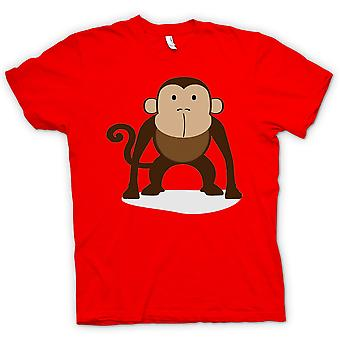 Mens T-shirt - I Love Monkeys - Cute Animal