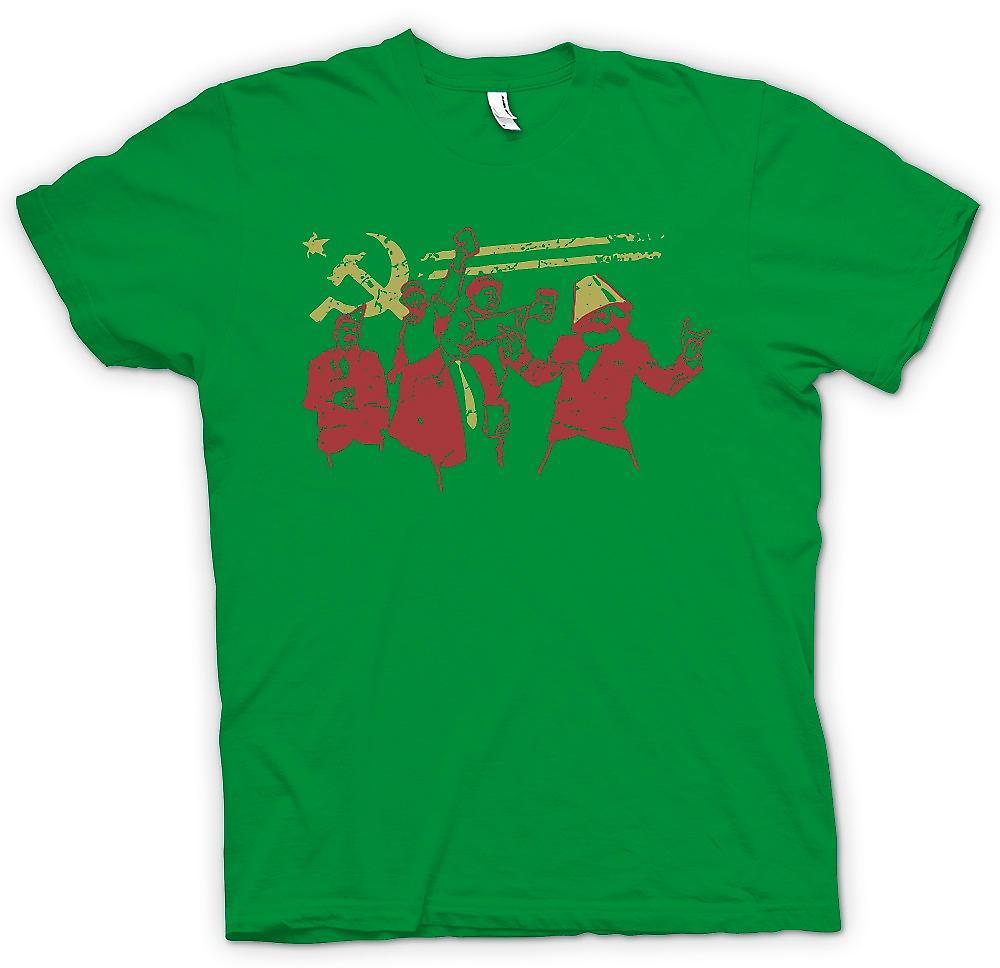 Heren T-shirt - communisme - Marx Lenin Stalin - Rusland